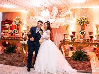 O casamento de Alessandra  e Cledson