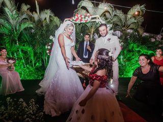 O casamento de Rosana e Abell 2