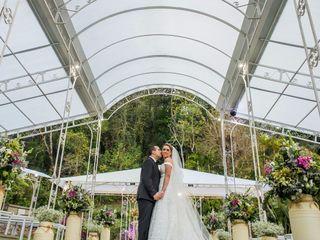 O casamento de Aline e Guilherme