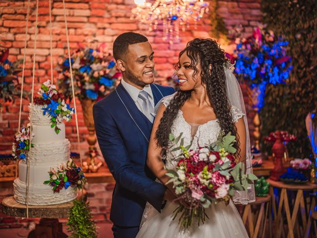 O casamento de Pamela e Kelvis