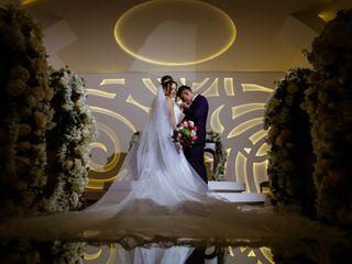 O casamento de Viviane e Vinícius