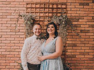 O casamento de Eluana e Lucas