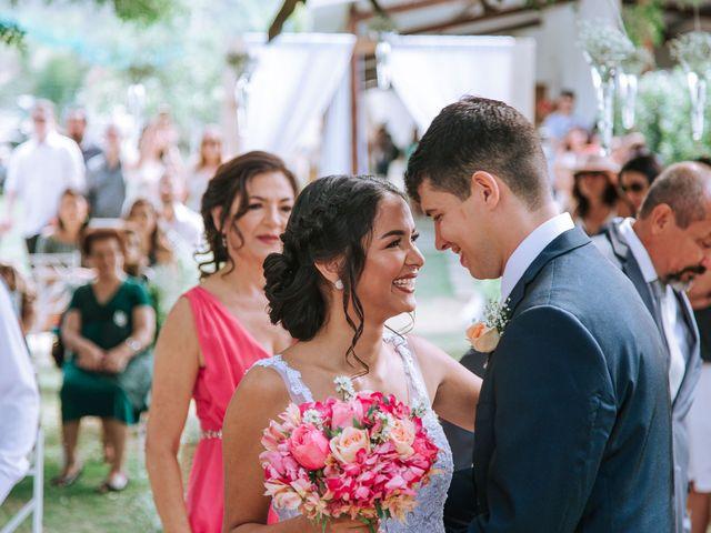 O casamento de Camila e Weliton