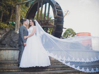 O casamento de Deise e Adriano