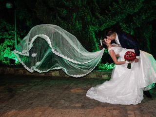 O casamento de Kyvian e Leonardo