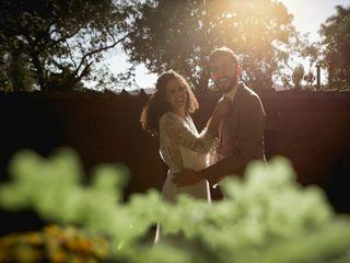 O casamento de Mateus e Ingrid Hescarlat