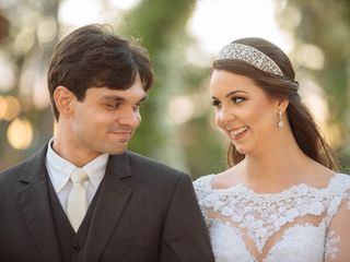 O casamento de Camilla e Erasmo