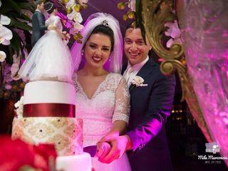O casamento de Larissa e Leandro