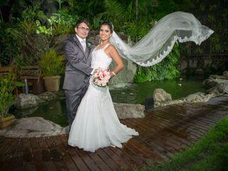O casamento de Diego e Clarissa