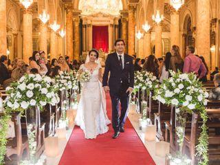 O casamento de Sany e Oscar