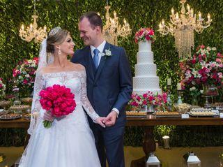 O casamento de Gracielle e Victor
