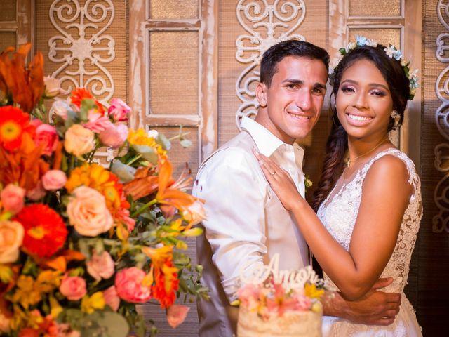 O casamento de Julia e Eslander