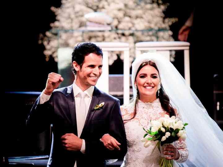 O casamento de Monique e Rafael