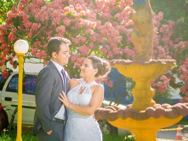 O casamento de Leila e Delvair