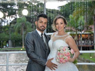 O casamento de Kamila e Junior 1