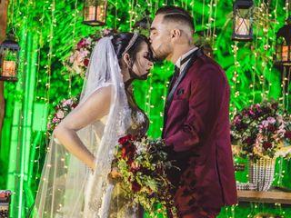 O casamento de Robson e Claudia