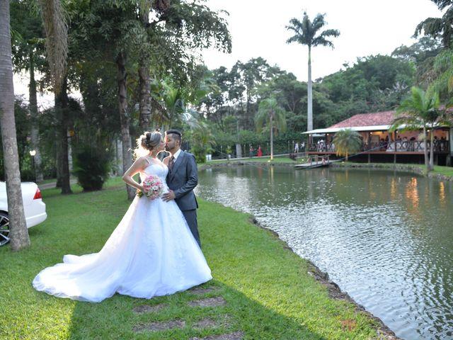 O casamento de Kamila e Junior