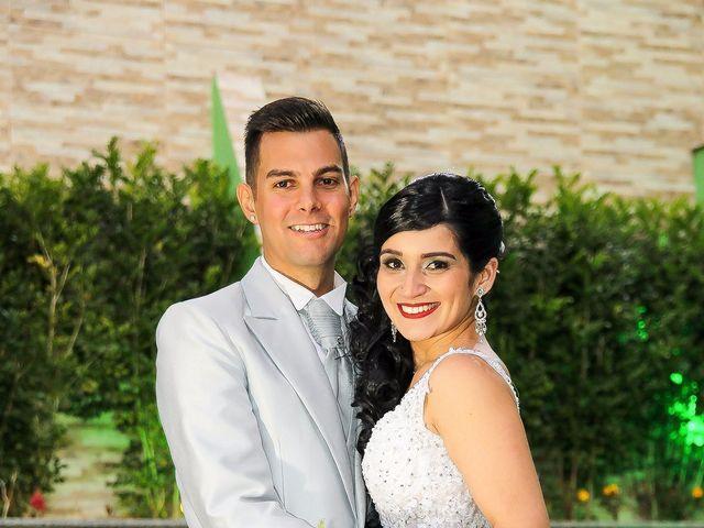 O casamento de Aline e Paulo