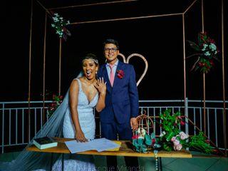 O casamento de Eveline e Rodrigo