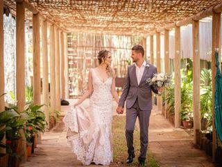 O casamento de Viviane e Jonatas