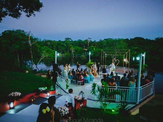 O casamento de Rodrigo e Eveline em Manaus, Amazonas 1