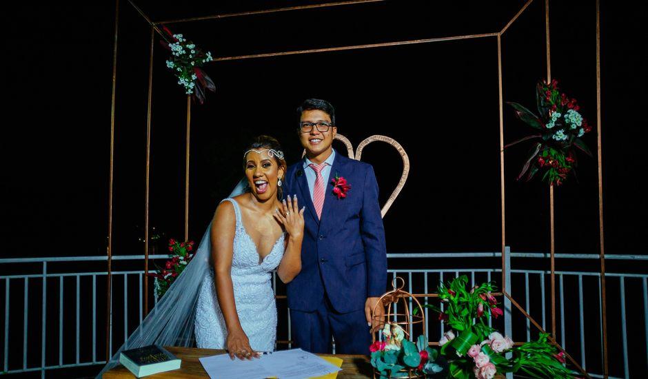 O casamento de Rodrigo e Eveline em Manaus, Amazonas