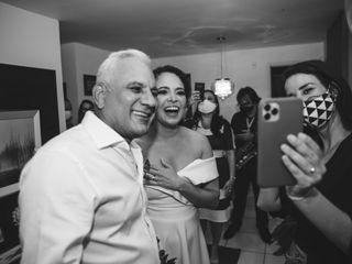 O casamento de Carla e Fernando