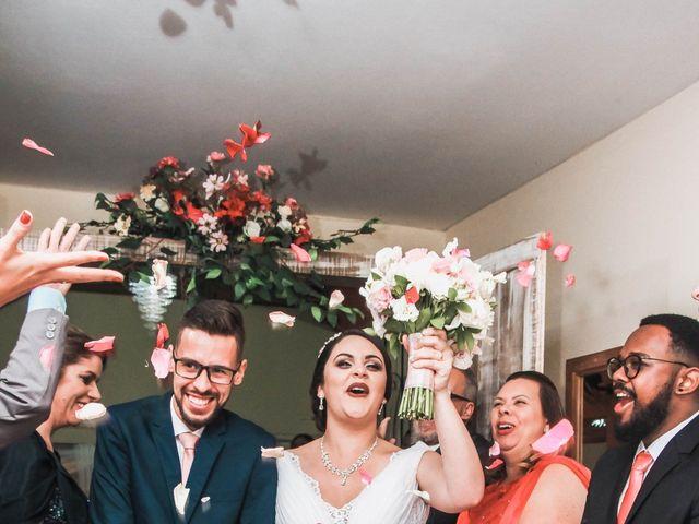 O casamento de Ellen e Matheus