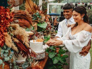 O casamento de Lua e Índio