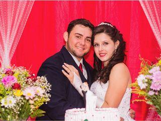 O casamento de Larise e Samuel