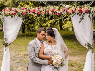 O casamento de Francielle e Daniel