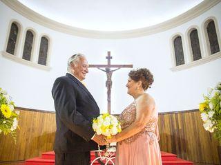 O casamento de Julieta e Ivanir