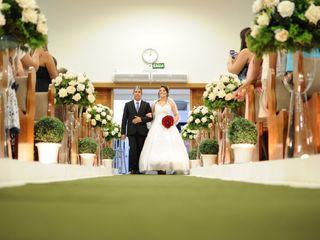 O casamento de Mariani e Julio 2