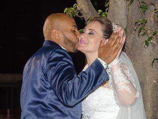 O casamento de Gisele e Raul