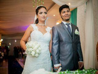 O casamento de Beatriz e Cristiano
