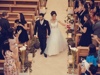 O casamento de Fernanda e Wellington