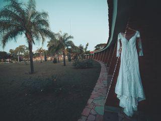 O casamento de Larissa e Wesley 1