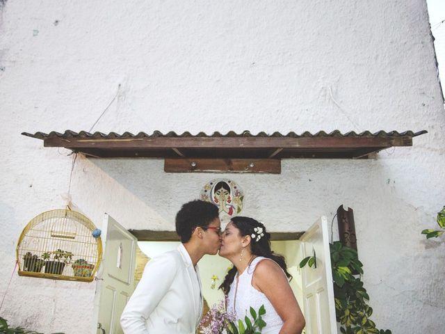 O casamento de Tânia e Clarissa