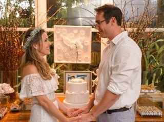 O casamento de Aline e César