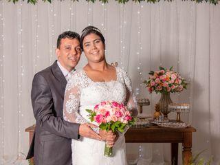 O casamento de Érica e Cizinio