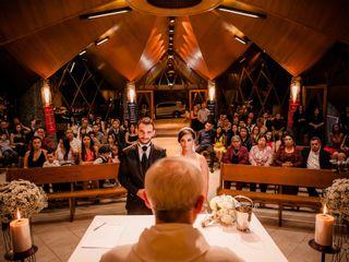 O casamento de Ariádine e Wellington