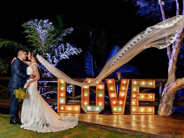 O casamento de Samya e Hebio