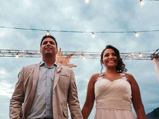 O casamento de Karina e Leonardo