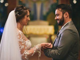 O casamento de Priscila e Denis