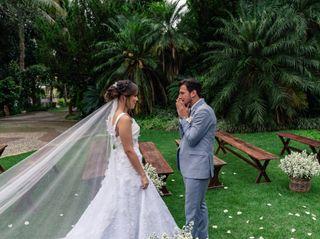 O casamento de Ana Caroline e Nelson
