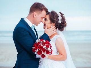 O casamento de Andrieli e Ângelo