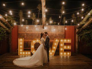 O casamento de Anderson e Isabel