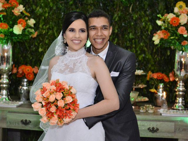 O casamento de Andressa e Carlos