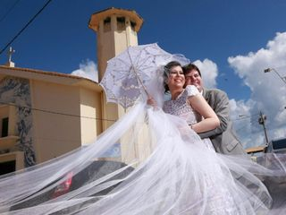 O casamento de Débora e André