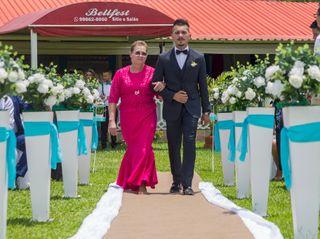 O casamento de Miciele e Jonisom 1